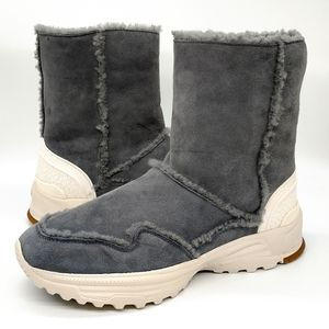 Coach Portia Genuine Shearling Lined Winter Boots